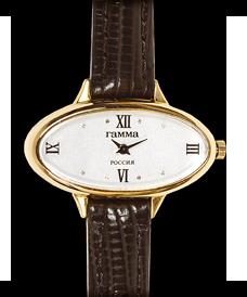 золотой браслет на часы 18 мм