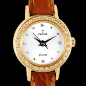 Золотые женские часы с золотым браслетом купить недорого в Москве