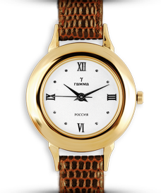 Золотые часы женские с золотым браслетом