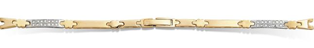 Часовые браслеты из золота 585 пробы
