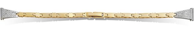 Часовые браслеты из золота