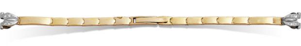 Золотые браслеты с одной дужкой