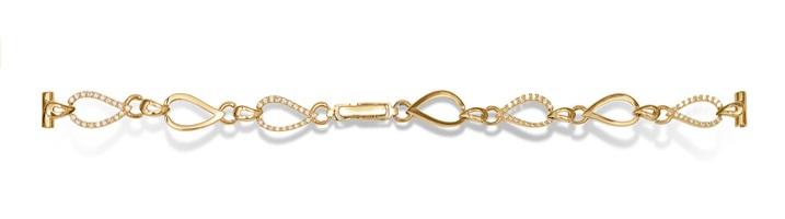 Золотые браслеты для часов женские