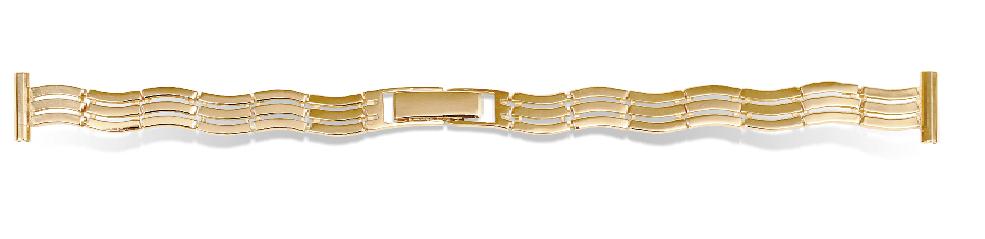 золотой часовой браслет женский
