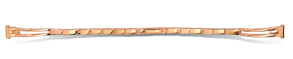 Оригинальный золотой браслет на часы