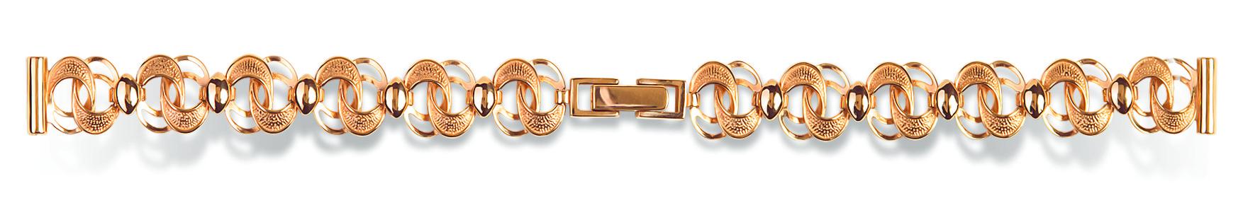 Купить недорогой золотой часовой браслет