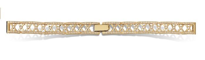 Женские браслеты из золота для часов