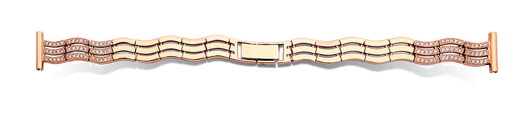 Женский браслет для часов из золота