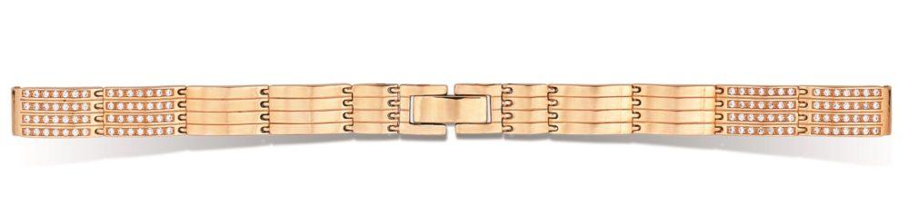 купить золотой браслет для женских часов