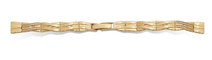 Золотой браслет для часов женский купить