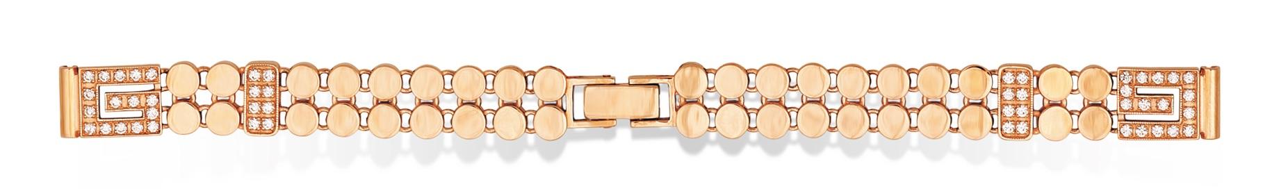 Золотой женский браслет