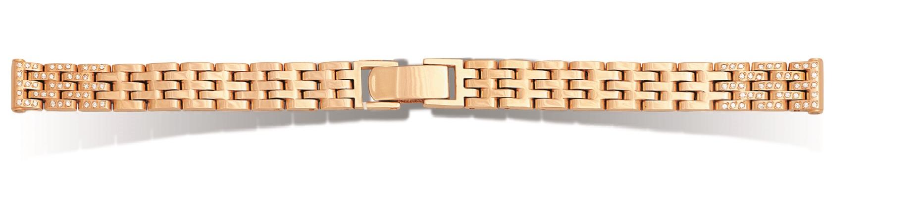 Золотой браслет для часов Ника