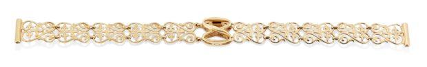 Купить браслет для часов золотых женских