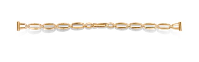 Недорогой золотой браслет для женских часов