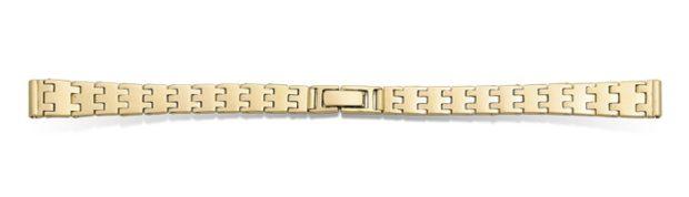 Золотые браслеты для часов Ника