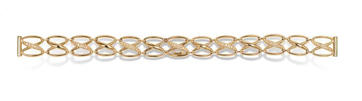 Золотые браслеты к часам