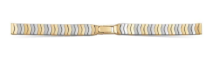 Золотой браслет к часам Ника