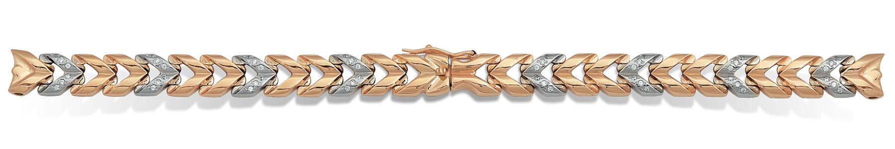 Цена золотого браслета для женских часов