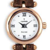 Золотые часы с одной дужкой