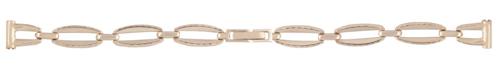 Купить золотой браслет для женских часов недорого