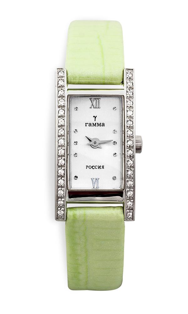 Часы женские белое золото