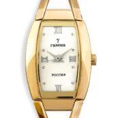 Часы на браслете золотые женские