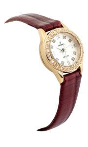 Золотые часы c бриллиантами