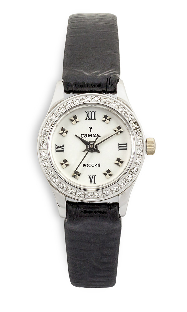 Купить золотые часы женские белое золото