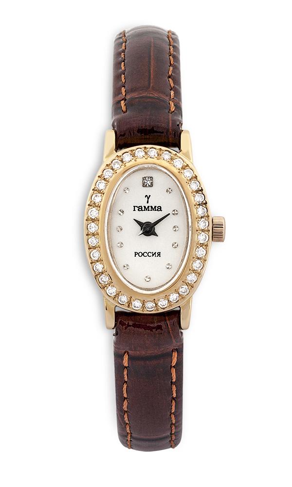 Купить золотые часы с бриллиантами