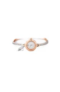 женские золотые часы на браслете