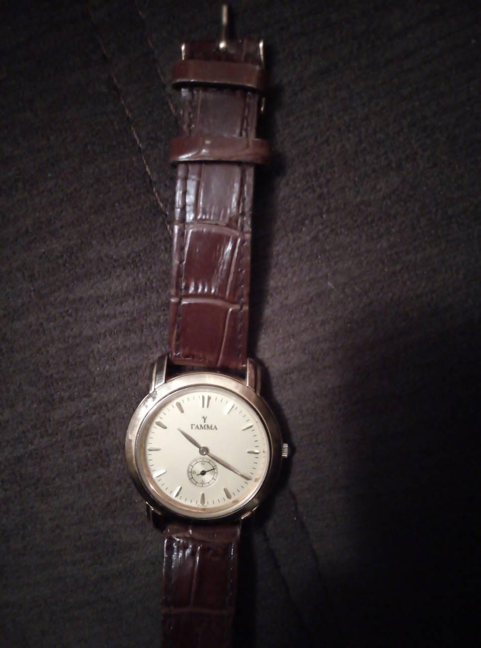 314fe5d36996 Как отличить настоящие золотые часы Гамма от подделки