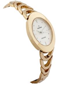 Часы золотые женские на браслете