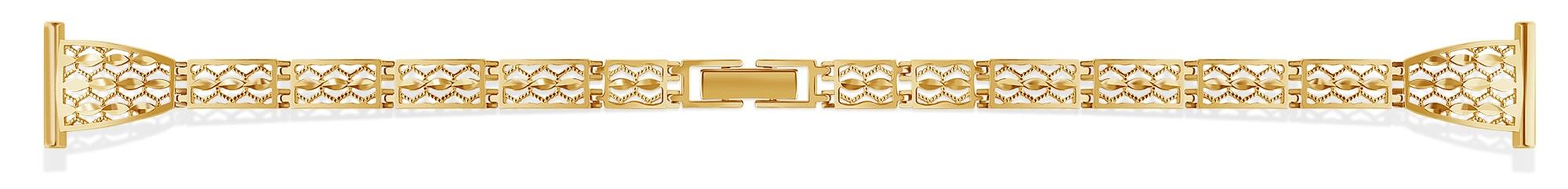 золотой браслет к часам 10-12-14 мм