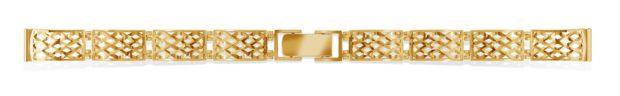 Каталог золотых браслетов для женских часов