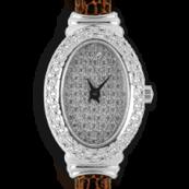 женские часы белое золото